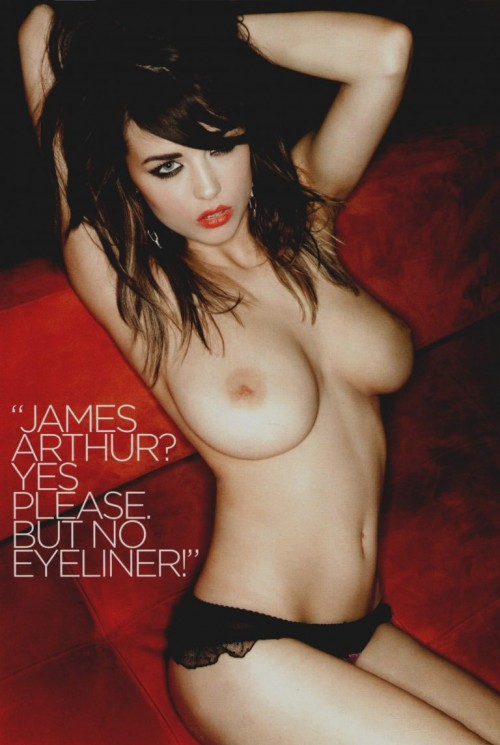 Danielle Sharp Loaded Magazine Feb. 2013 HQ Scans (3)