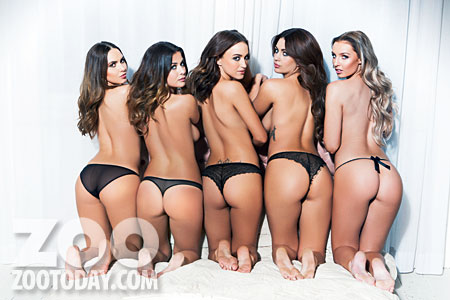 uk glamour models topless, group pics (1)