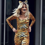 Ashley-Roberts-Stunning-in-Tiger-Catsuit-5