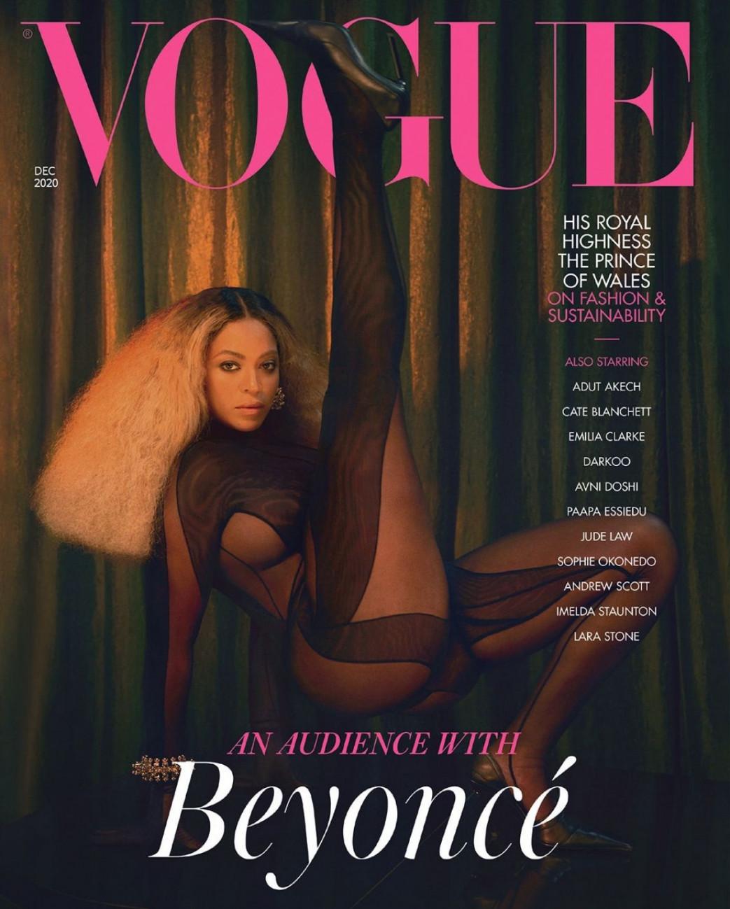 Beyonce for Vogue, UK December 2020