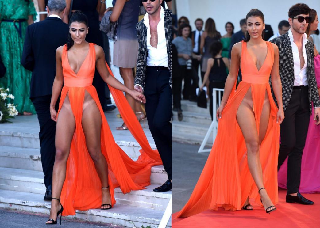 Giulia-Salemi-Pantyless-Red-Carpet-Upskirt-4.jpg