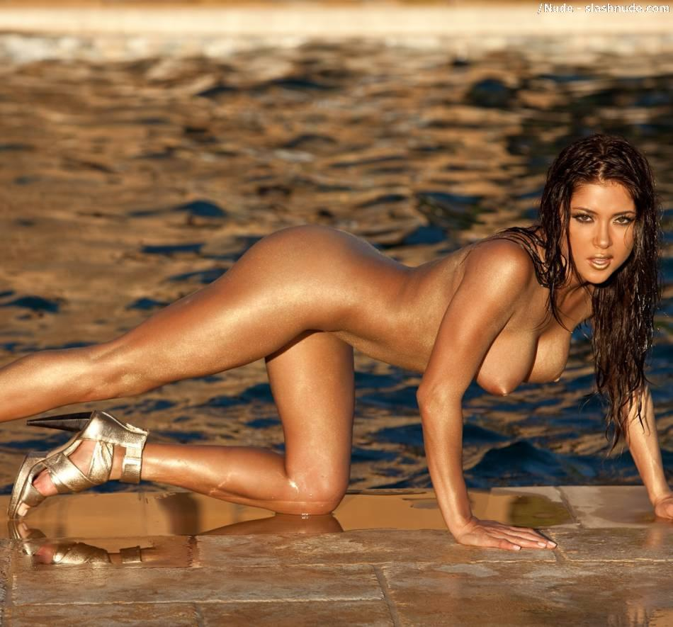 Arianny Celeste nude workout for UFC (10)