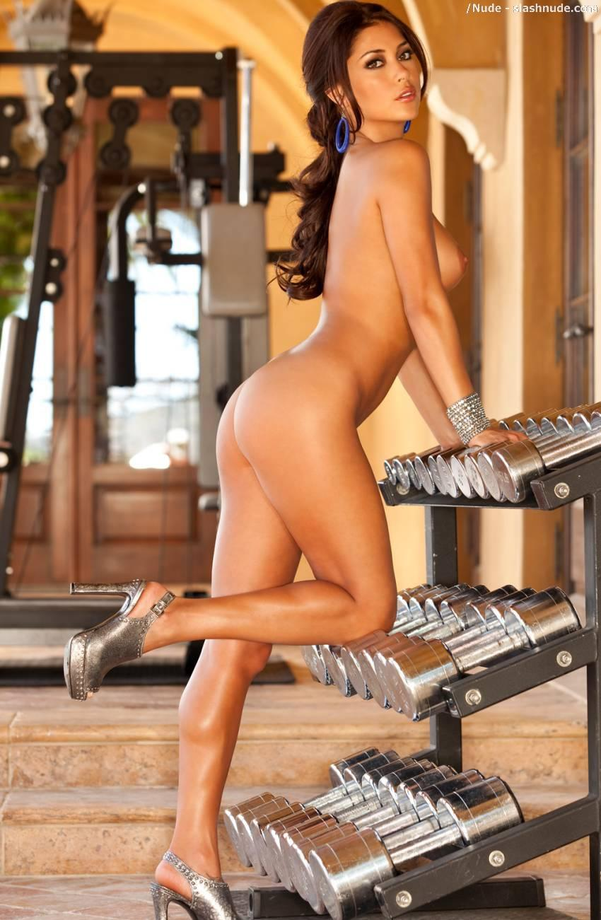 Arianny Celeste nude workout for UFC (5)