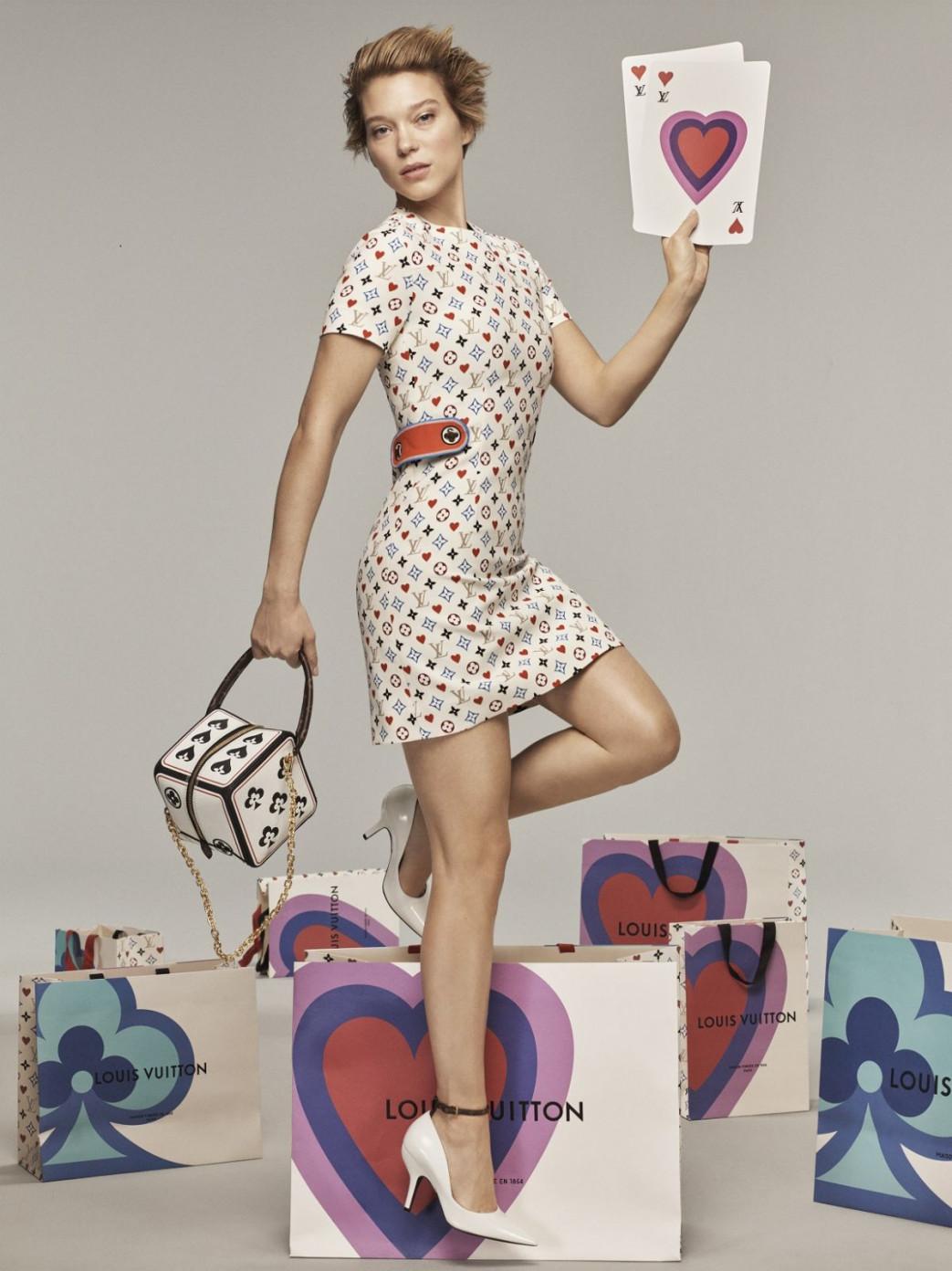 La Seydoux for Louis Vuitton Cruise 2021 Collection (