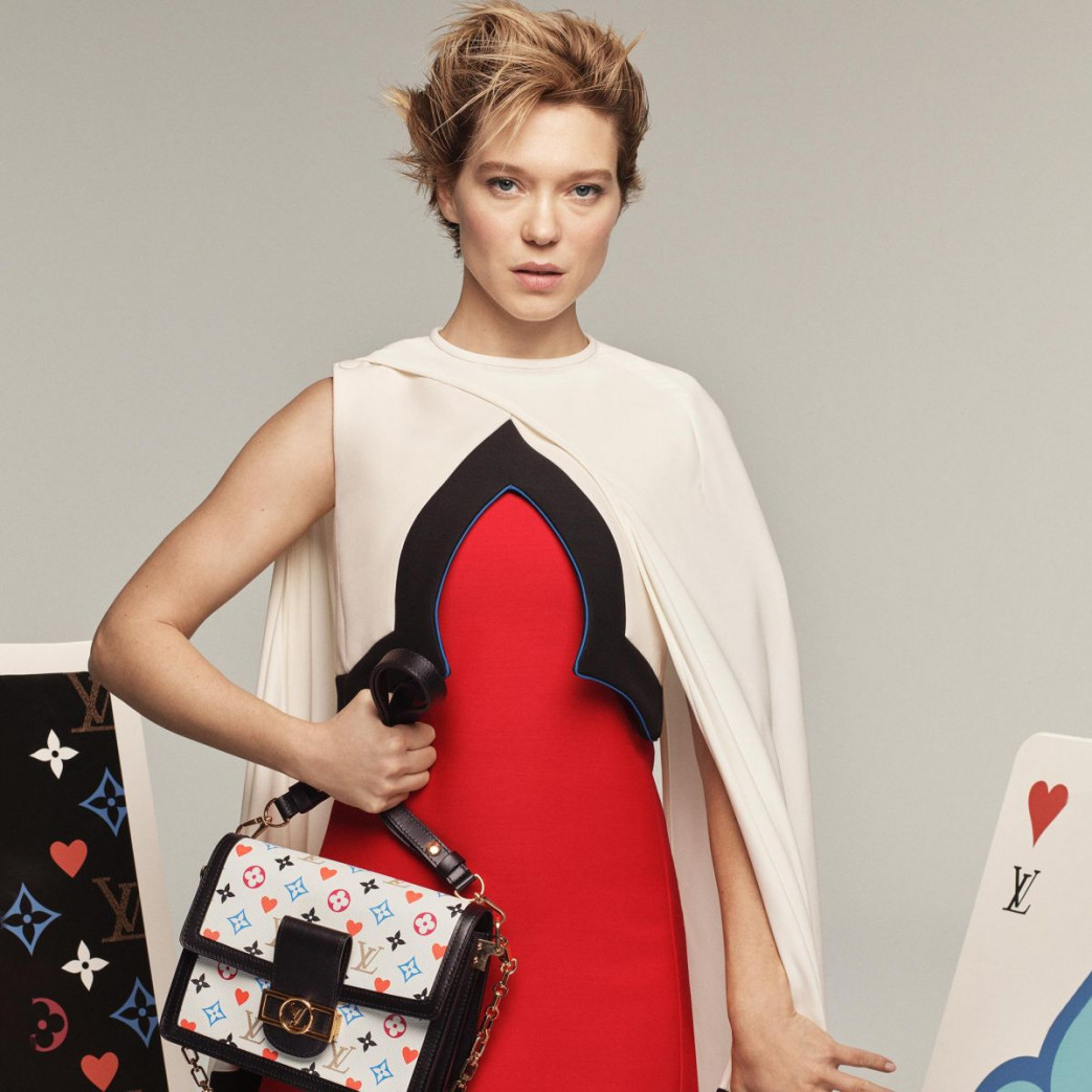 La Seydoux for Louis Vuitton Cruise 2021 Collection (