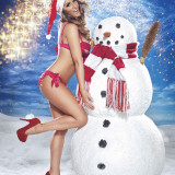 Lucy-Pinder-Naked-Christmas-11