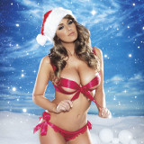 Lucy-Pinder-Naked-Christmas-12
